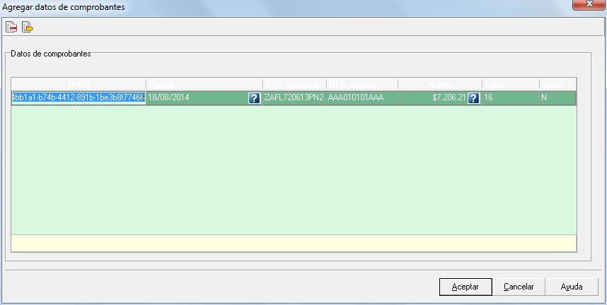 Computo.CloudIngenium.com - Enlace Aspel 339 - Agregar datos de comprobantes