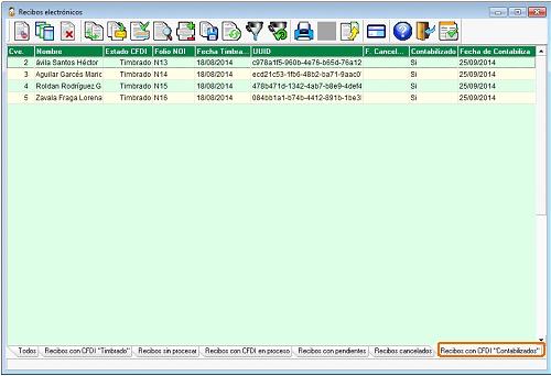 Computo.CloudIngenium.com - Enlace Aspel 339 - Recibos electrónicos